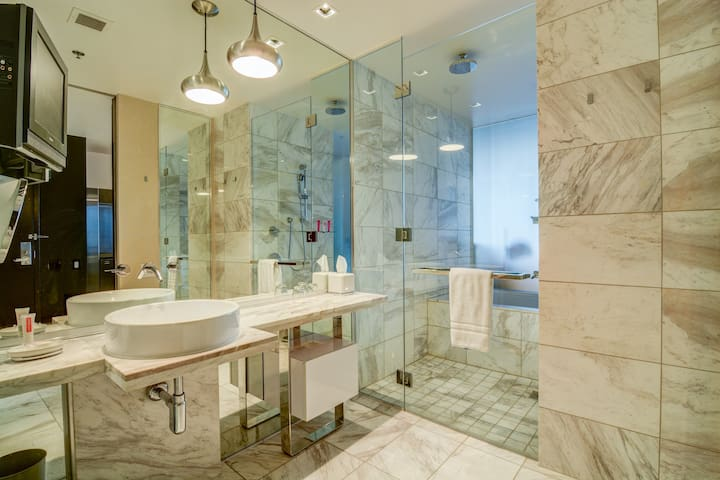 Full Marble Bathroom