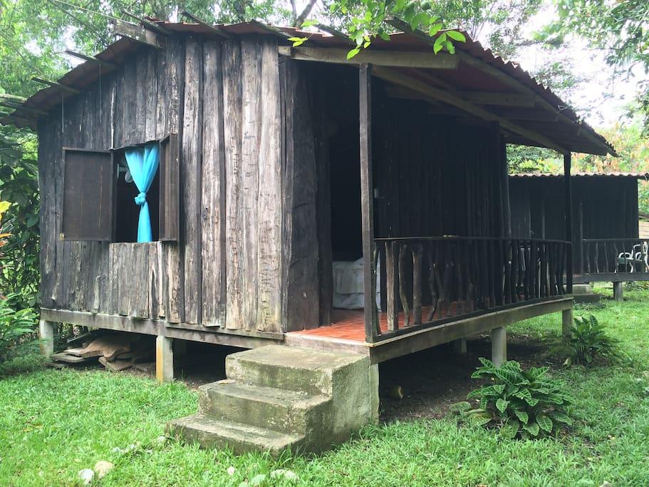 Cabaña rústica
