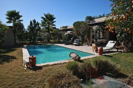 SUPERBE  VILLA  AVEC  PISCINE  PRIVEE - Agadir - Dům