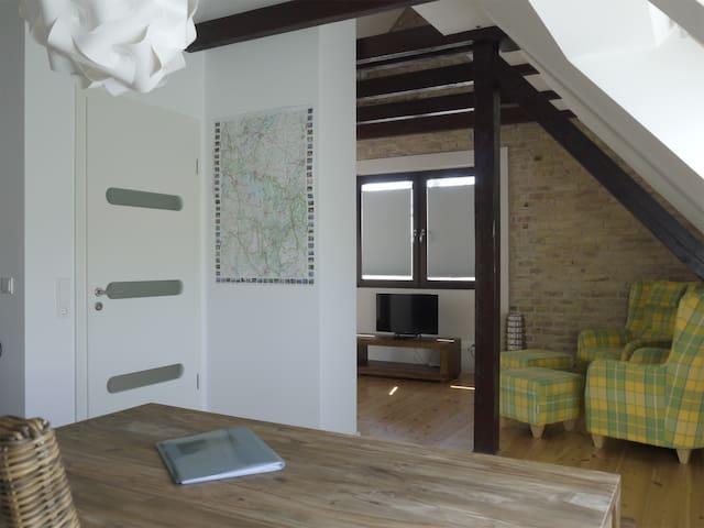 Ruhig, gemütlich und naturnah - Rechlin - Apartamento