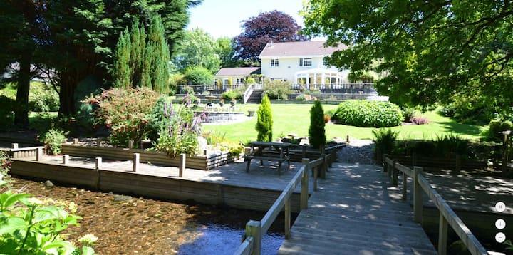 Millpool Lodge peaceful haven Cardinham Cornwall