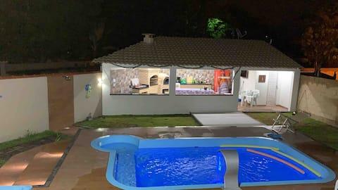 Excelente casa piscina com hidro e área gourmet