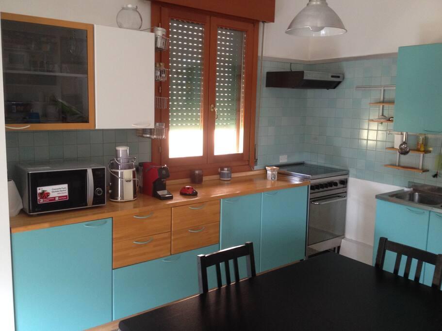 La cucina dell'Open space