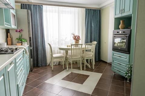 Уютная чистая квартира в тихом центре