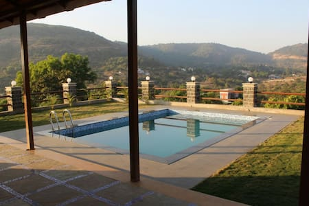 2BHK with Private Pool at Pawna Lake in Lonavala - Kolawali