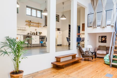Brussels center,spacious loft! - Bruxelles - Loft