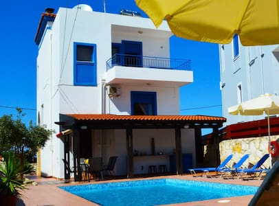 Villa Olympia - Pool & beach(Early Booking Discnt) - Chania - Villa