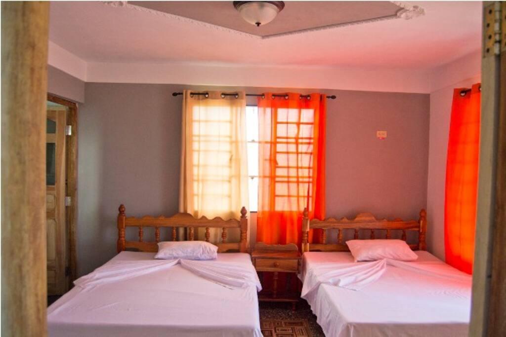 habitaciones amplias y confortables !!!!