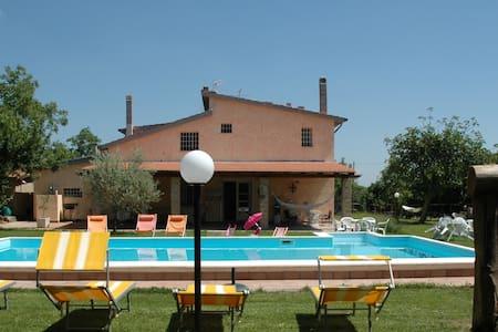 Splendida villa con piscina con 6 stanze da letto - Vignanello - Casa de camp