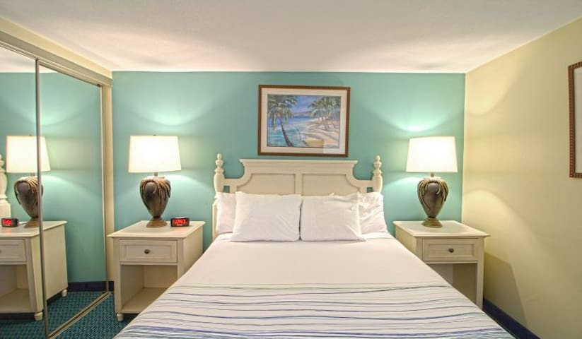 The bedrooms are tranquil and inviting.