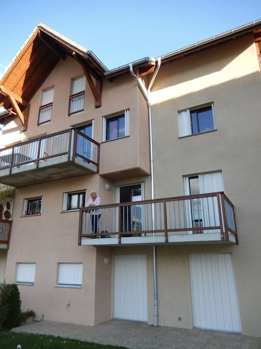 Appartement op eerste verdieping van de chalet