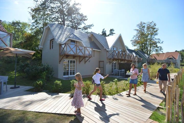 Eco village proche Baie de Somme -villa familiale