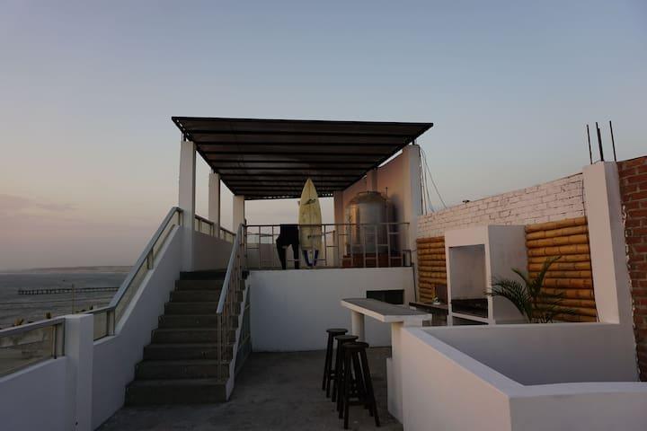 terraza area comun,zona de parrilla