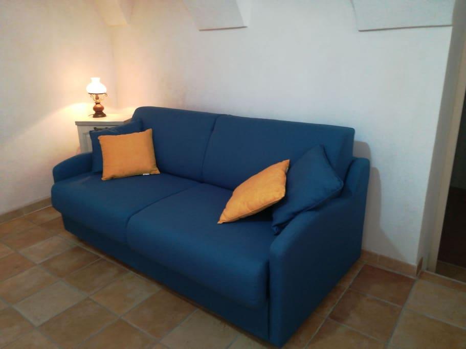 Comodo divano letto