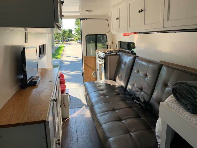 Fully converted sprinter camper