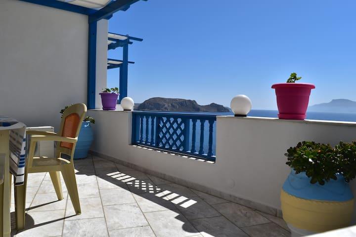 balcony in the Aegean 1 - Finiki - Lägenhet