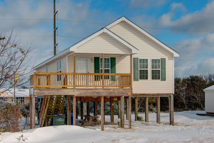Nags Head House For Rent On Soundside Beach