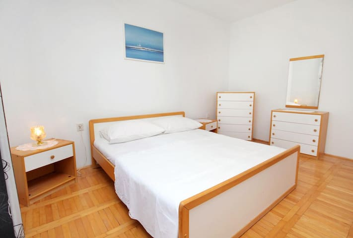 Two bedroom apartment with terrace and sea view Senj (A-5571-b)