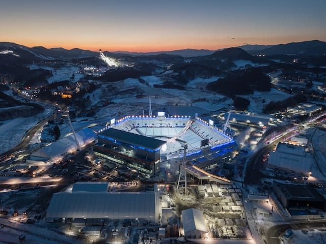 8-min from PyeongChang Olympic Stadium