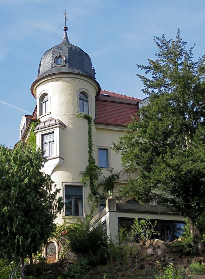 Ferienwohnung Villa Jagdweg Radebeul/Dresden 1.OG