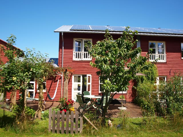 Family rowhouse in Eco-village - Roskilde County - Дом