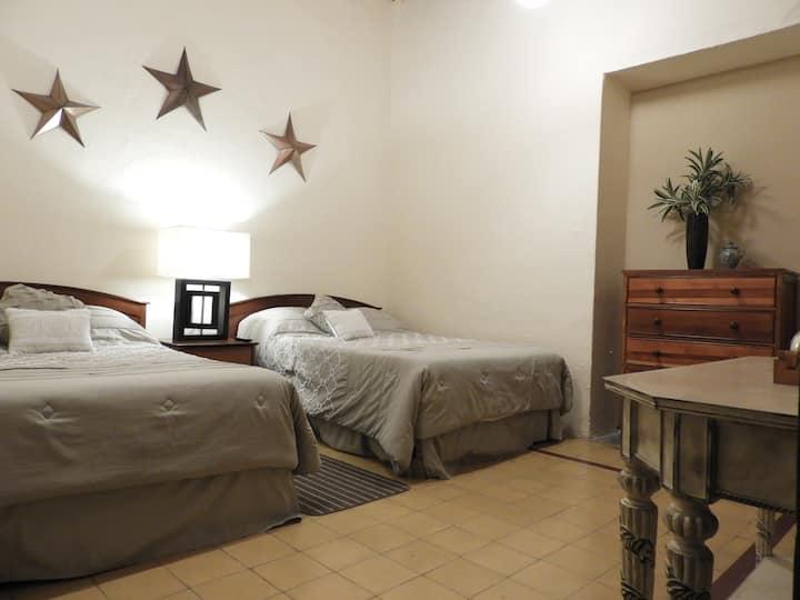 Suite Doppio/Colonial house in Guanajuato downtown