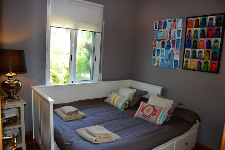 5 th bedroom from Dressing. Access is through Master Ensuite.  On floor 2.