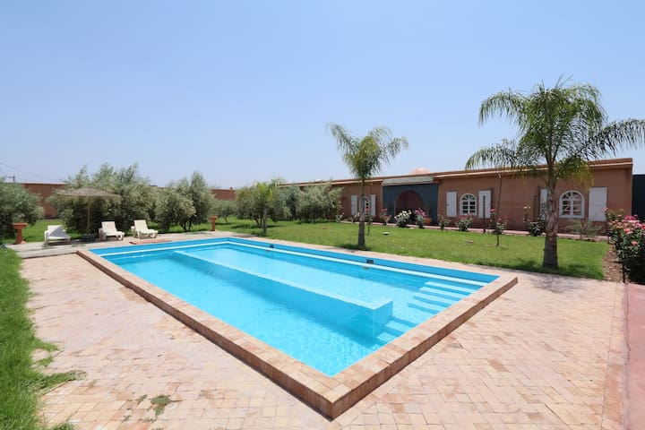 Villa Touka ( private house with swiming pool )
