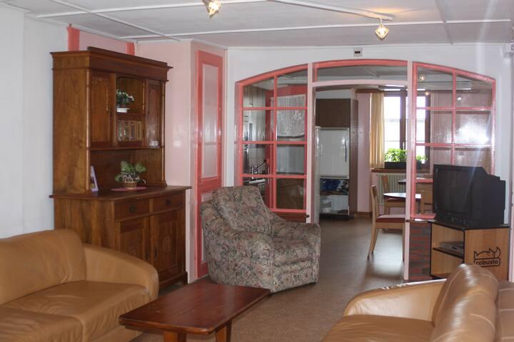 Appartement à l'Auberson pour 10 personnes