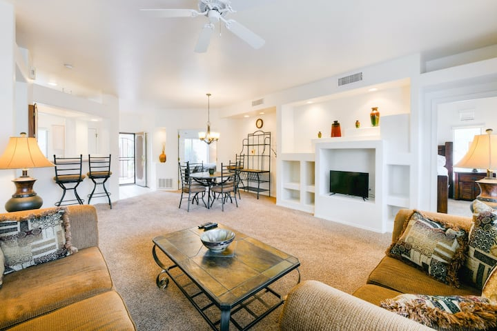 New listing! Dog-friendly condo w/ shared pool, hot tub, and fitness center!