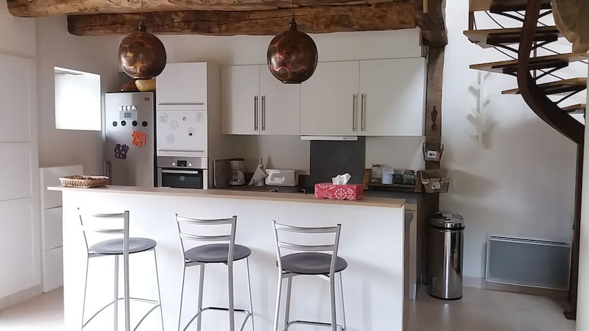 Comfortable and bright house in quiet aera - Saint-Pierre-de-Plesguen - Casa