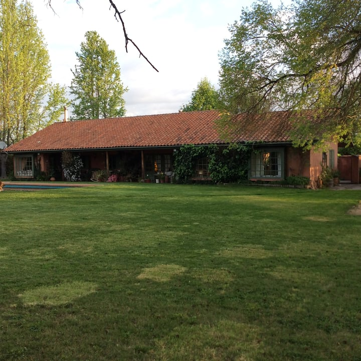 Casa de campo. Ruta del vino - Colchagua
