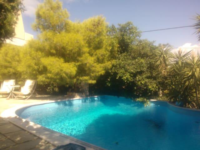Sea view villa with swimming pool! - Saronida - Villa