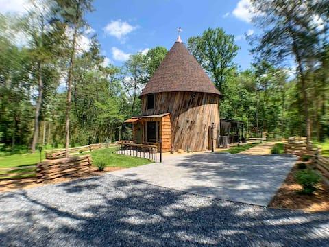 "Hobbit House in the Shenandoah Virginia ""Shire"""