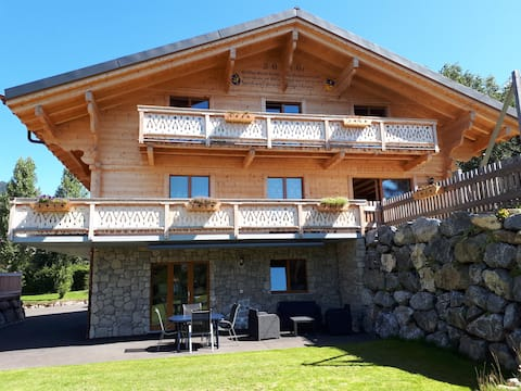 nice furnished studio of 38m2 in a new chalet