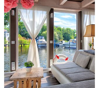 Luxus Hausboot in Wannsee - Berlin