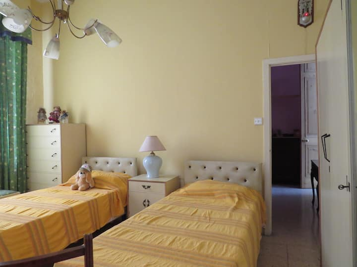 2 beds, bedroom in the heart of the Capital City.