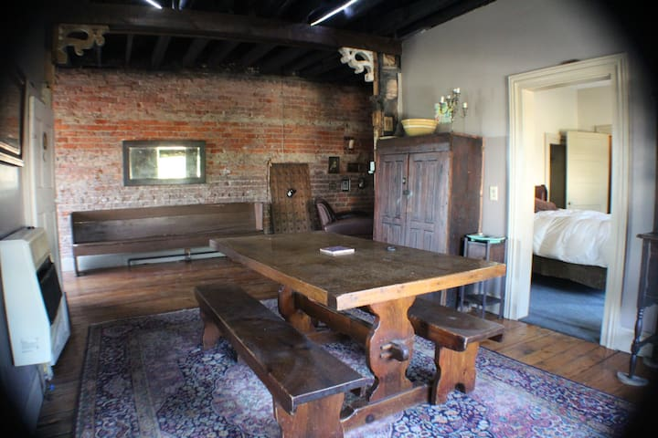 125 Year Old East TN Loft in Small Mountain Town