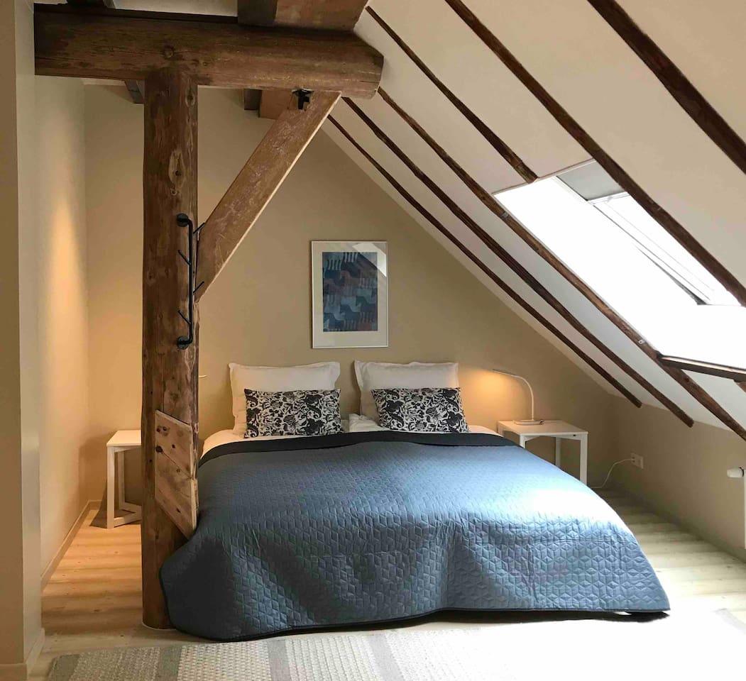 Tweepersoonskamer met privé badkamer