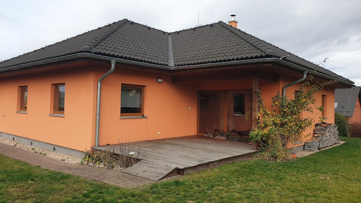 Cozy 3BR/1,5BA House in Liberec, Jizera Mountains