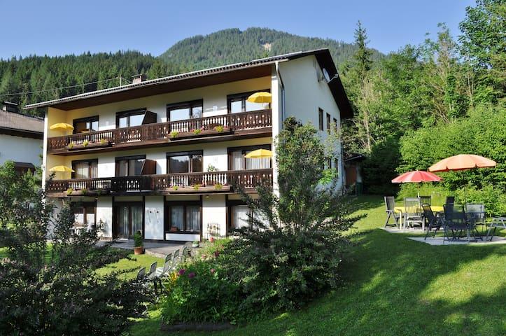 Pension Weissbriach - Standaard Appartement/Balkon
