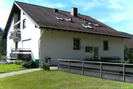 """Ferienwohnung """"Waldblick"""" - Bad Wildbad - Appartement"""