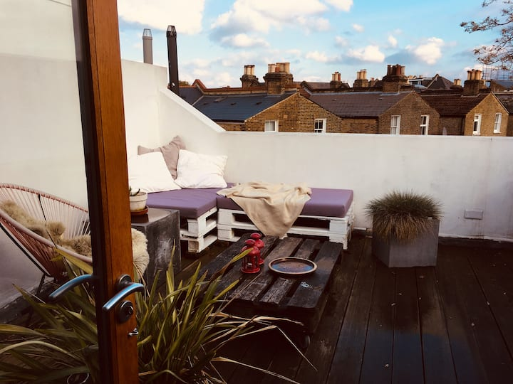 4 bdrm with roofterrace by Franklins, East Dulwich