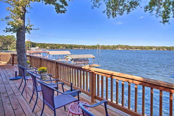 NEW! Waterfront Home w/ Dock, Fire Pit & Patio!