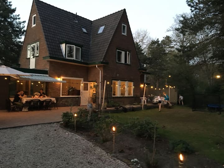 Spacious family home near beach, Haarlem and A'dam
