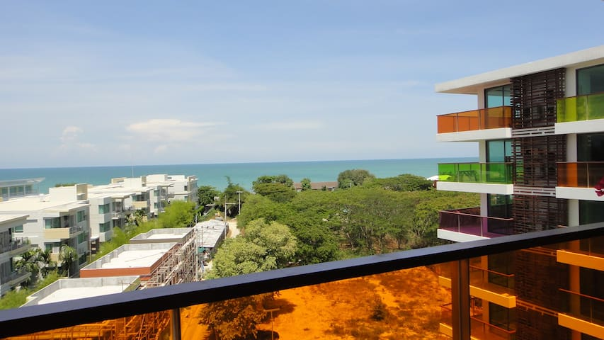 Wonderfull Condo Seaview 200m Beach - TH - Lägenhet