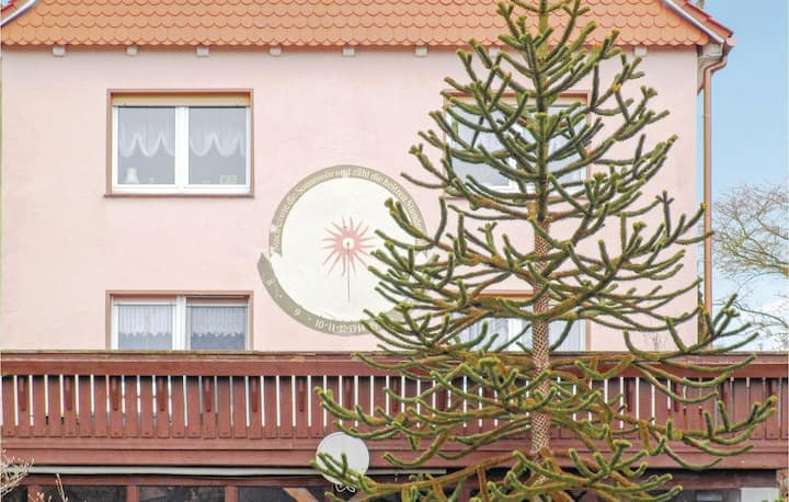 Holiday apartment with 2 bedrooms on 62m² in Mühlhausen