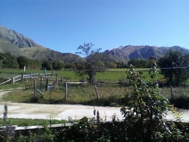 villette tra i monti Amatriciani