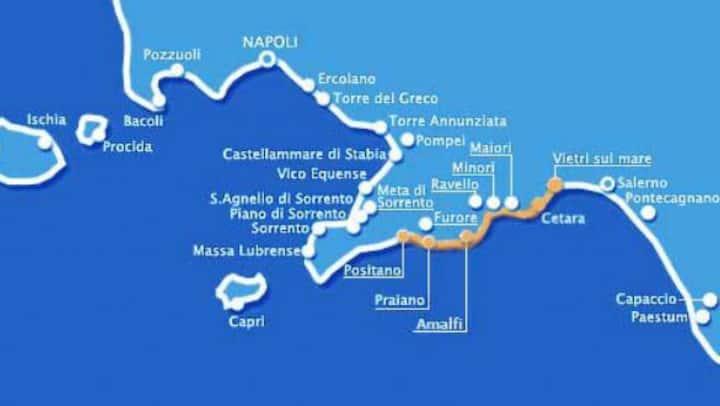 Villa MERION Salerno costa d'Amalfi