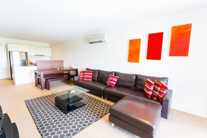 Comfy Central City living at The Avenue